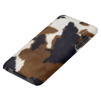 Cowhide Leather Print iPod Touch Case