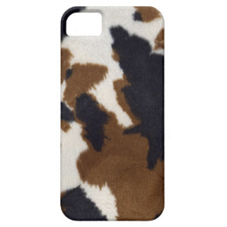 Cowhide Leather Print Pattern iPhone 5 iPhone SE/5/5s Case