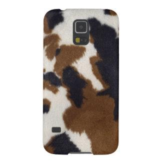 Cowhide Leather Print Samsung Galaxy Nexus Case For Galaxy S5