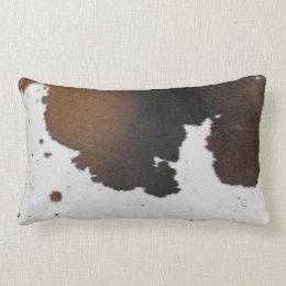 Cowhide Lumbar Pillow