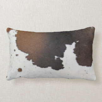 Cowhide Lumbar Pillow