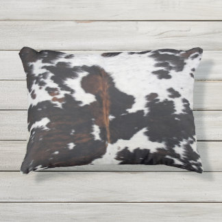 Cowhide Outdoor Pillow