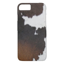 Cowhide Patch iPhone 8/7 Case