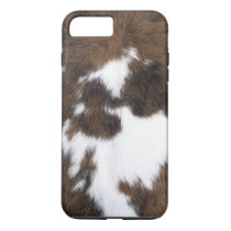 Cowhide Patch iPhone 8 Plus/7 Plus Case