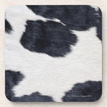 Cowhide Print Beverage Coaster