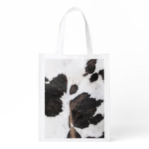 Cowhide Reusable Grocery Bag