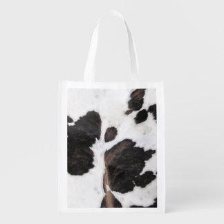 Cowhide Reusable Grocery Bag