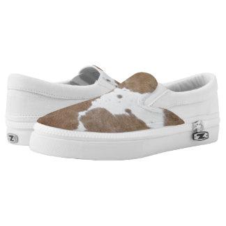 Cowhide Slip-On Sneakers