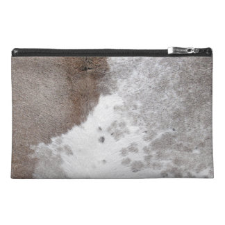 Cowhide Travel Accessory Bag