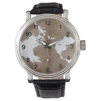 Cowhide Watch