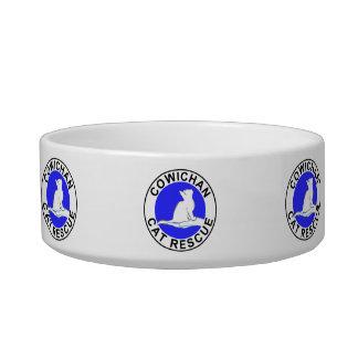 Cowichan Cat Rescue logo Bowl
