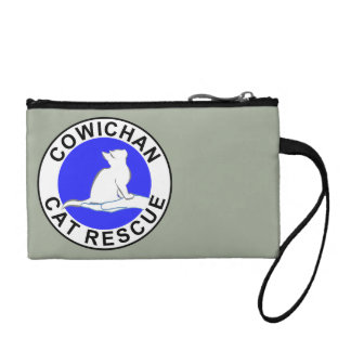 Cowichan Cat Rescue logo Change Purse