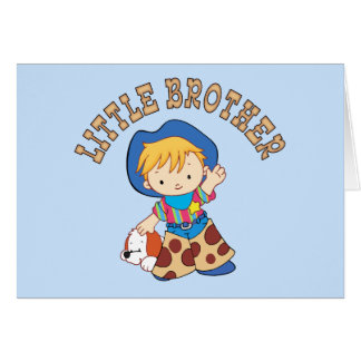 Cowkids Little Brother Card