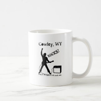 Cowley WY Tazas De Café