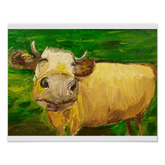 Cowlin Firth, Happy Cow Poster