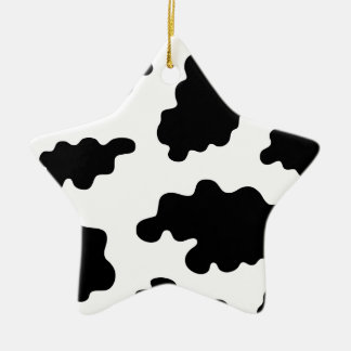 Cowmooflage Ceramic Ornament