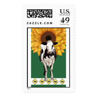 'COWmposition IV' Postage Stamp