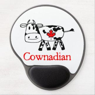 Cownadian Gel Mousepad