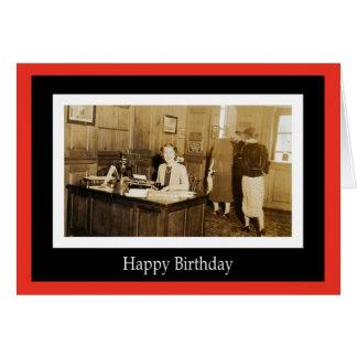 Coworker Birthday Card