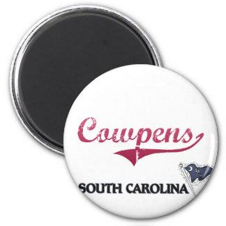 Cowpens South Carolina City Classic Magnet