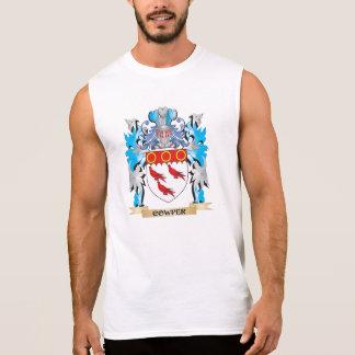 Cowper Coat of Arms - Family Crest Sleeveless Shirt