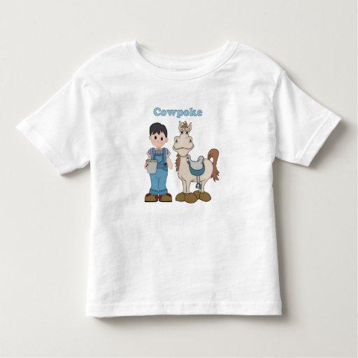 Cowpoke Cowboy T Shirts