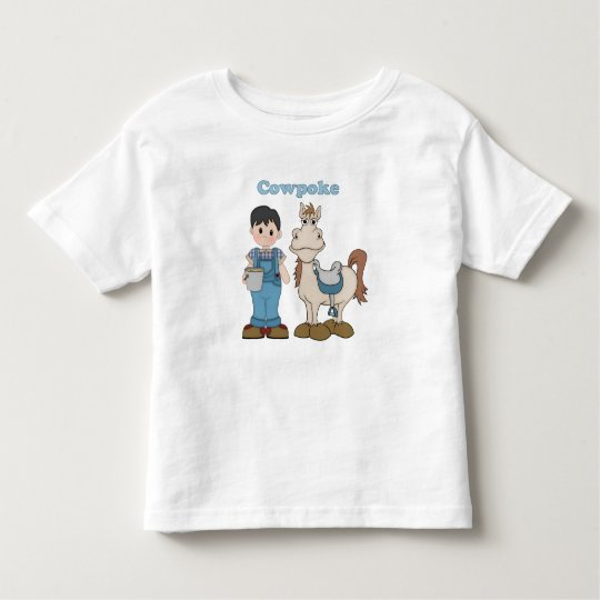 Cowpoke Cowboy Toddler T-shirt