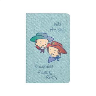 Cowpokes Rose & Rusty Journal