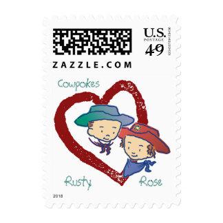 Cowpokes Rose & Rusty Postage