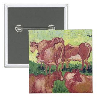 Cows, 1890 button