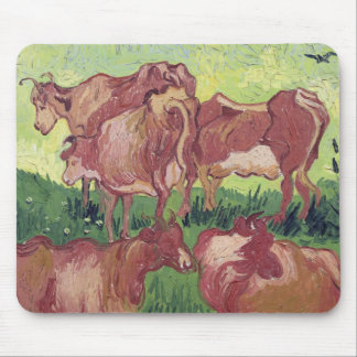 Cows, 1890 mouse pad