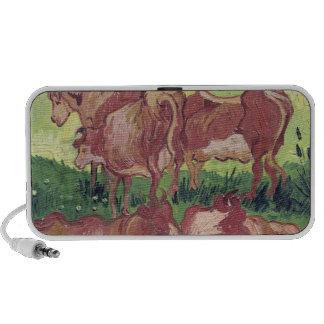 Cows, 1890 notebook speaker