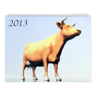 cowS  2013 Calendar