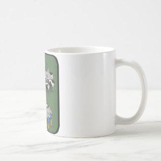 cows and aliens coffee mug