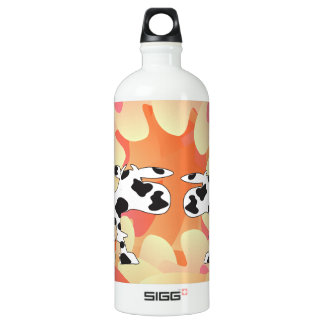 Cows and hearts SIGG traveler 1.0L water bottle