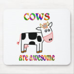 Cows are Awesome Mouse Pad