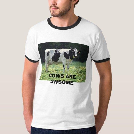 COWS ARE AWSOME T-Shirt