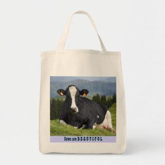 Cows are Beautiful Tote Bag