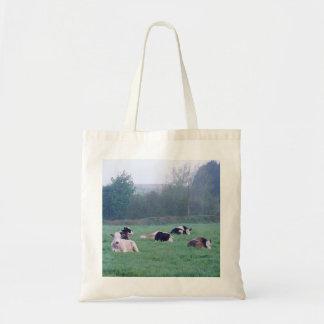 Cows At Daybreak Budget Tote Bag