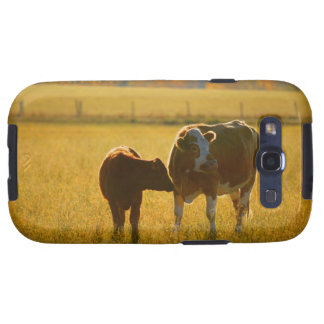 Cows at pasture samsung galaxy s3 cover