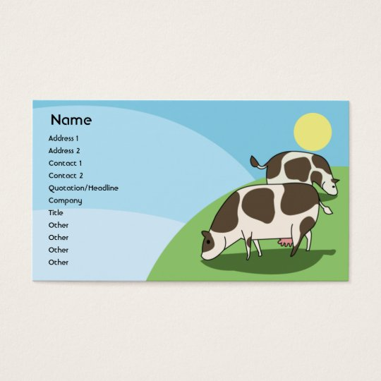 Cows - Business Business Card
