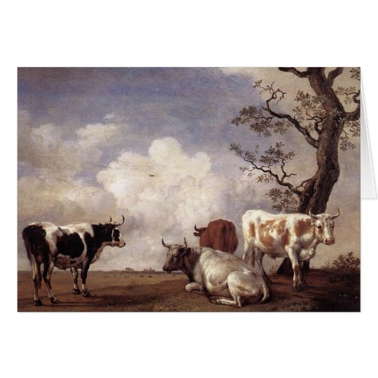 Cows by Potter Card