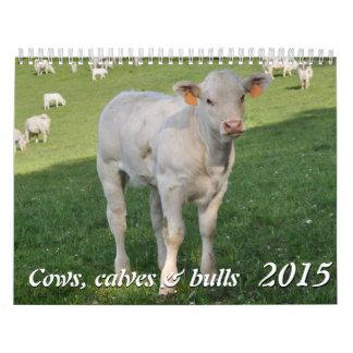 Cows, calves & bulls 2015 calendar