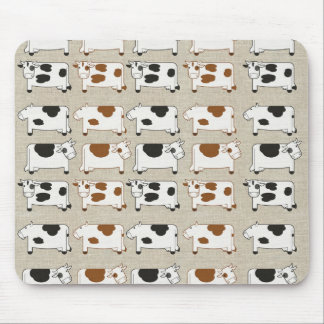 Cows Cows Cows Mouse Pad