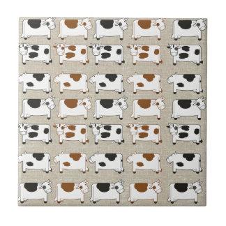 Cows Cows Cows Tile
