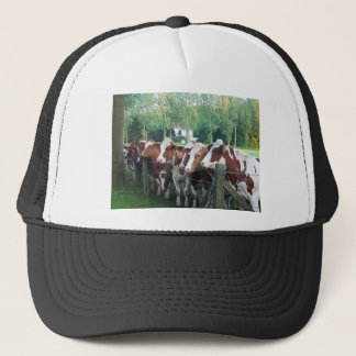 Cows Curious Trucker Hat