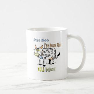 Cows: Deja Moo Classic White Coffee Mug