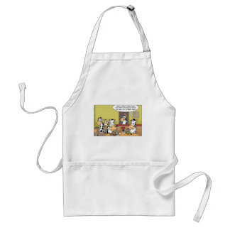 Cows Eating Steak Funny Tees Mugs Cards & Gifts Adult Apron