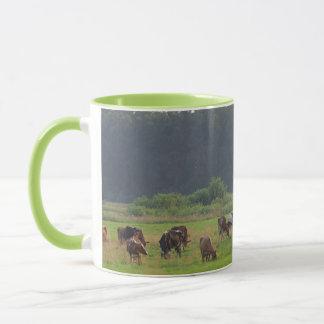 Cows herd mug