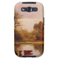 Cows In A Watering Landscape Albert Bierstadt Samsung Galaxy S3 Case
